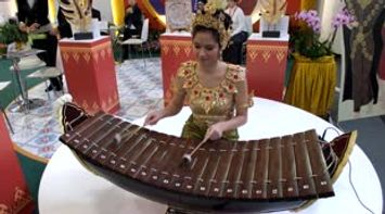 Traditional Thailand Timpani show ITB Berlin Germany