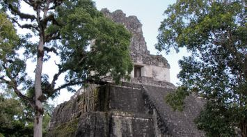 title: A moment of peace at Tikal Guatemala