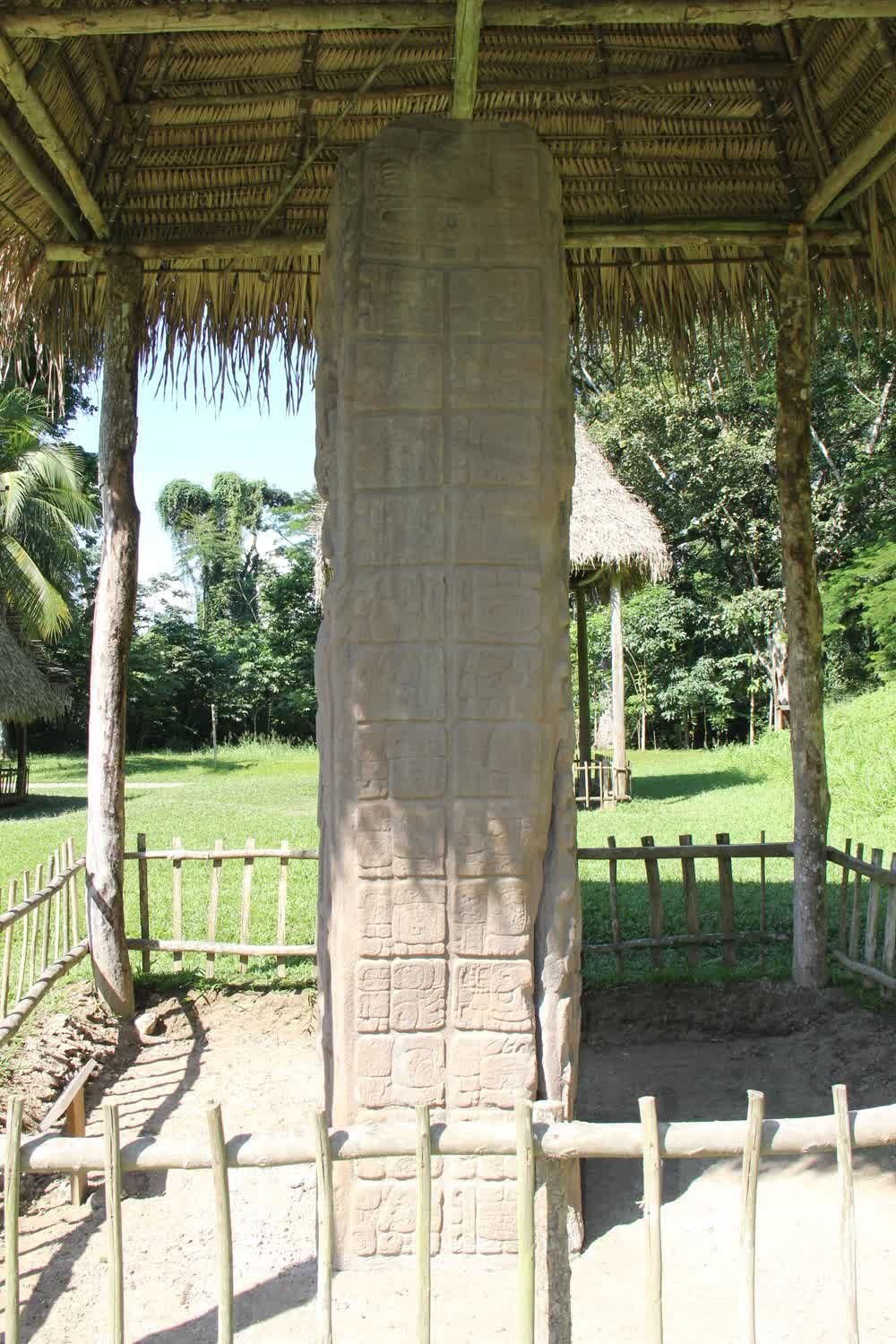 A stone model from Quirigua Guatemala