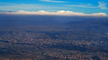 title: Above Yerevan Armenia