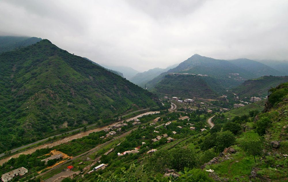 title: Alaverdi and Debet river Armenia