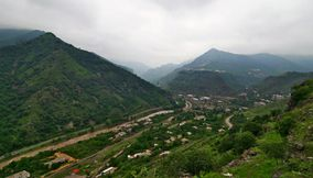 Alaverdi and Debet river Armenia