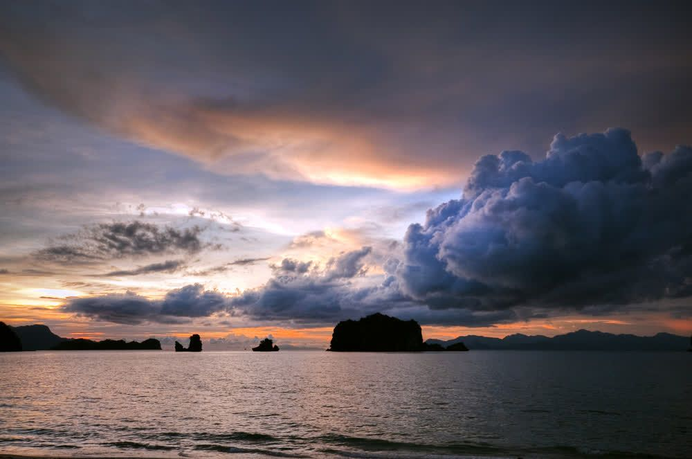 title: Amazing sky colors Langkawi