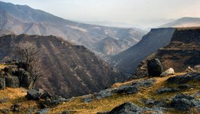 Amazing view Lori canyon Armenia