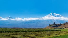 Ararat and Khor Virap Armenia