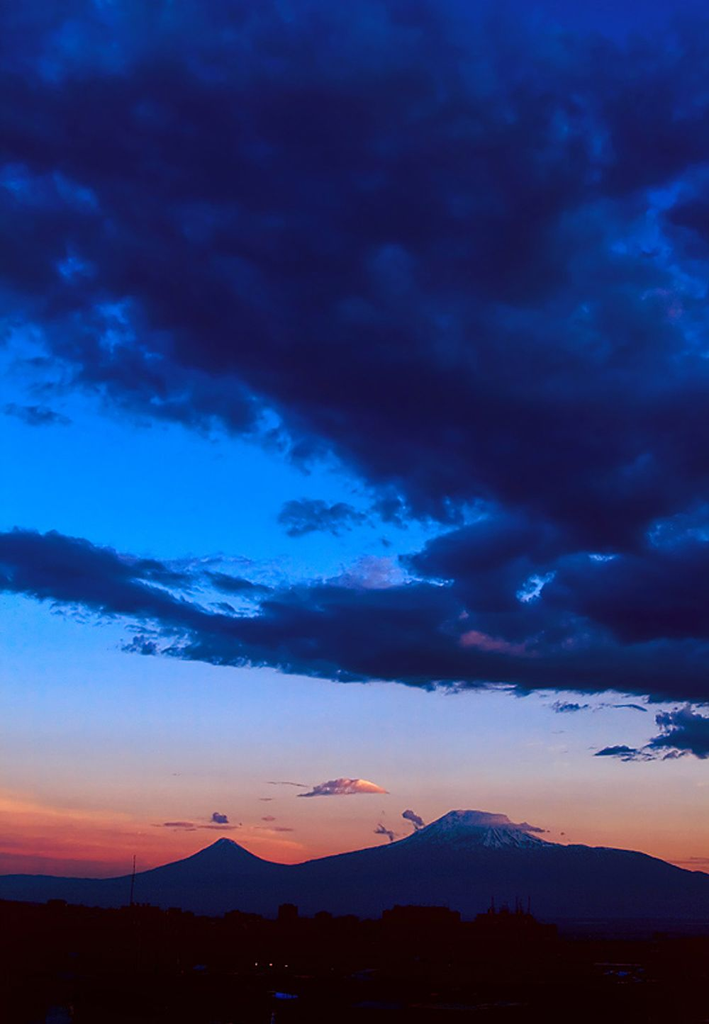 title: Ararat at sunset Armenia