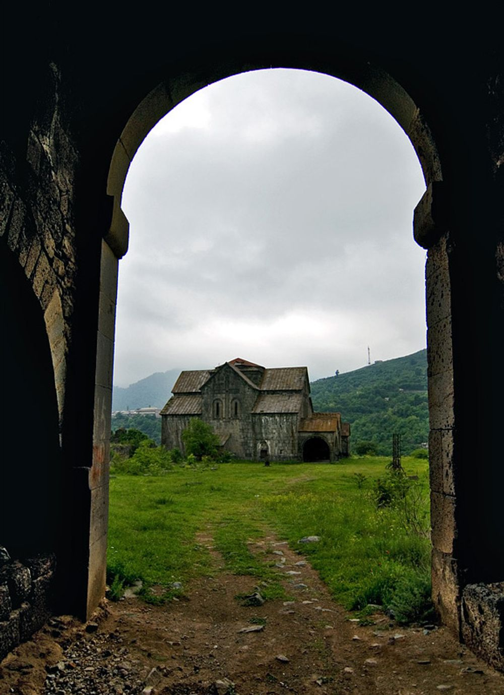 title: Arch of Akhtala Armenia