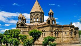 title: Beautiful Edchmiadzin Armenia