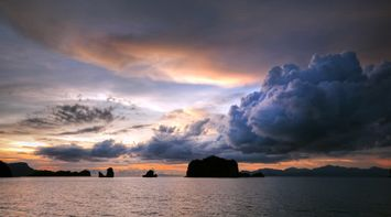 title: Beautiful sunset Langkawi