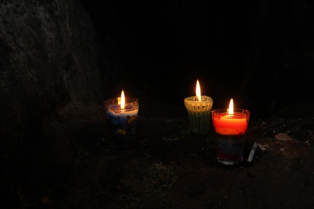 title: Candles Gumarkaj Guatemala