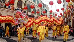 title: Chinese new year festival Macau