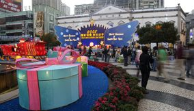 Christmas decoration Macau