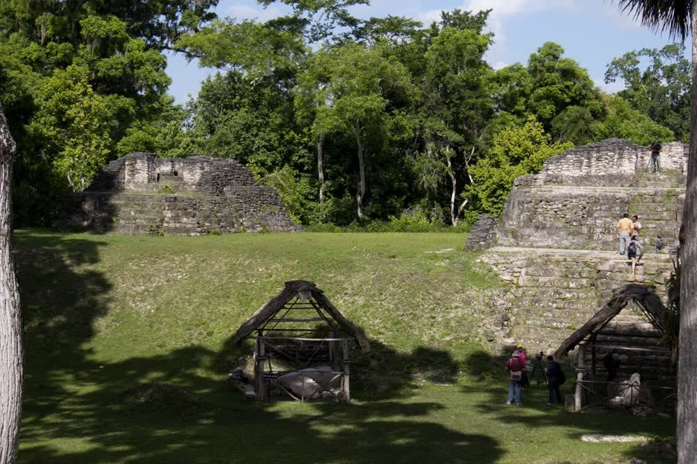 title: Cities of the Old Kingdom of Maya Uaxactun Guatemala