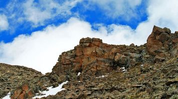 title: Clouds over Stones of Aragats Armenia