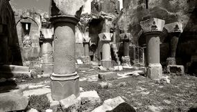 title: Columns of gavit Armenia