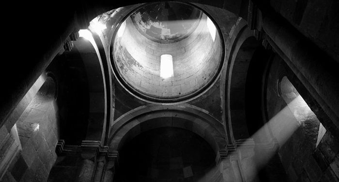 title: Dome of Hovhanavank monastery Armenia