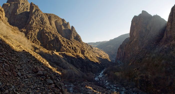 title: Dzoraget river canyon Armenia