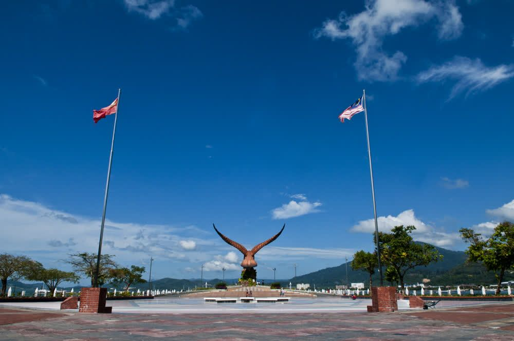 title: Eagle Square or Dataran Lang Langkawi