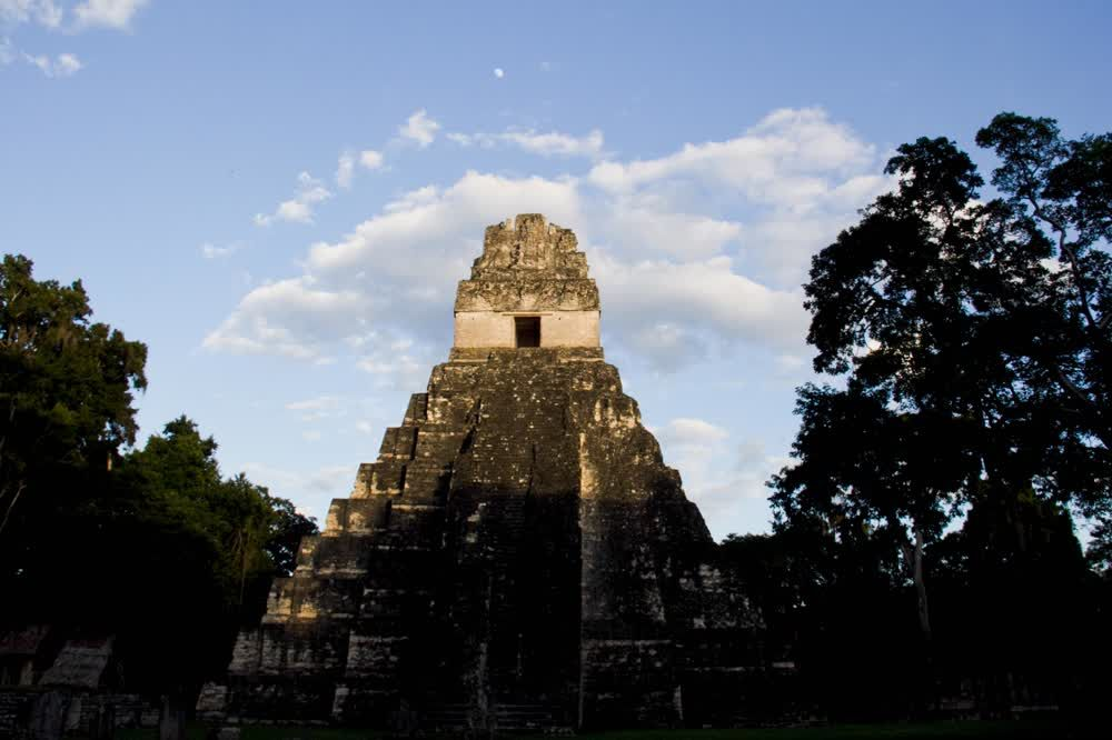 title: Early morning Tikal Guatemala