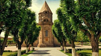 title: Echmiadzin tree route Armenia