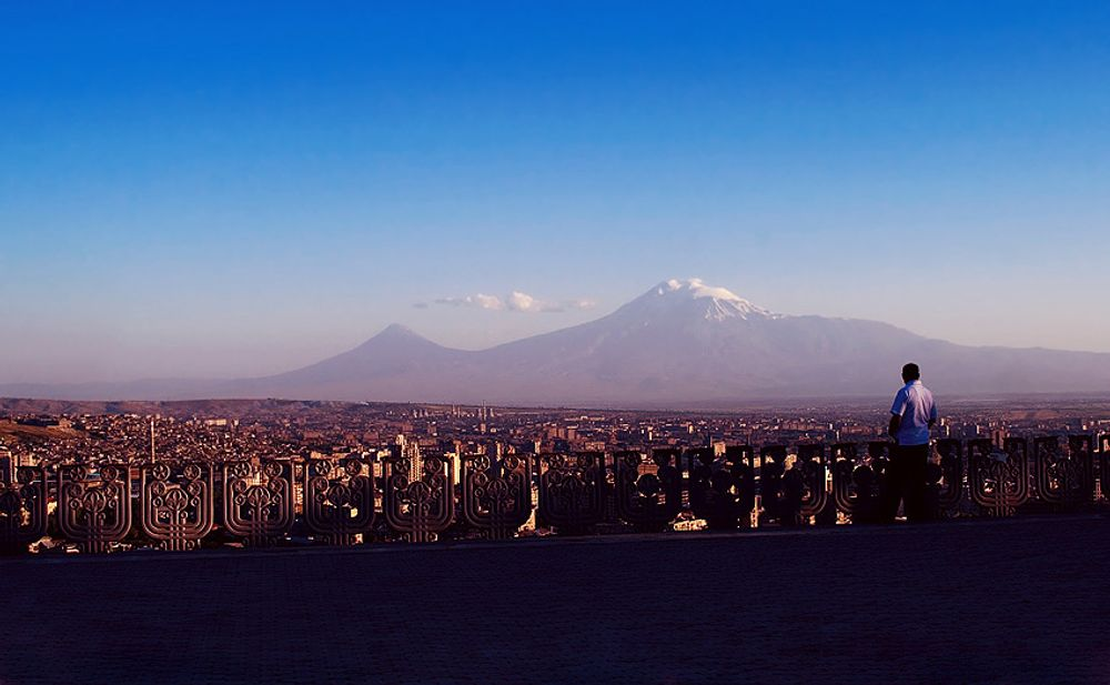 title: Evening Ararat Armenia