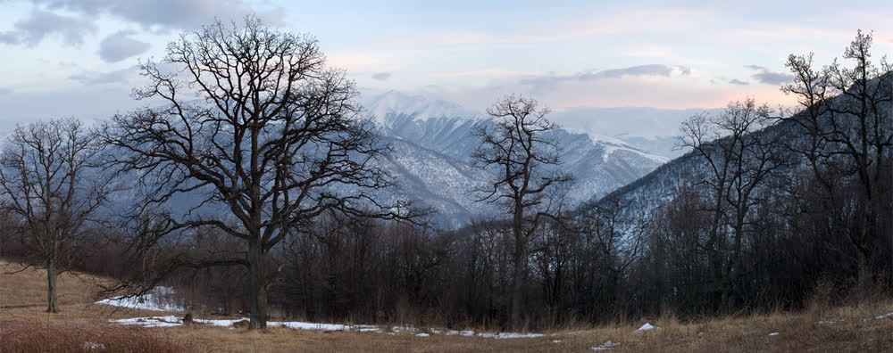 title: Evening in mountains Armenia