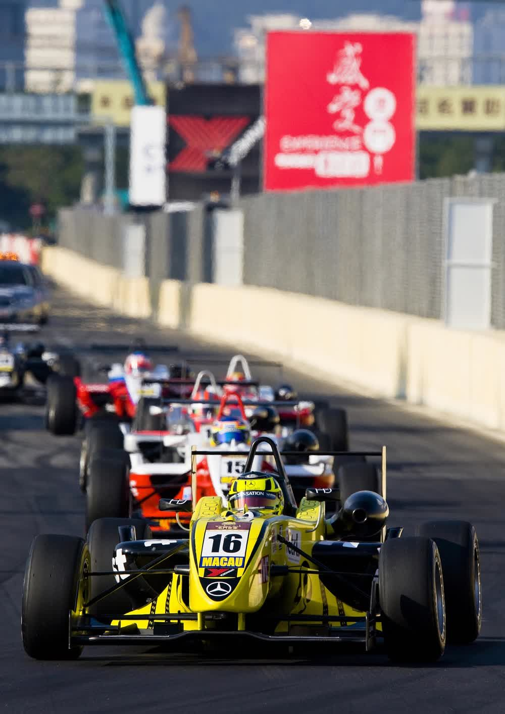 title: Fast and furious formula car Macau