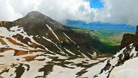 From the top of Aragats Armenia