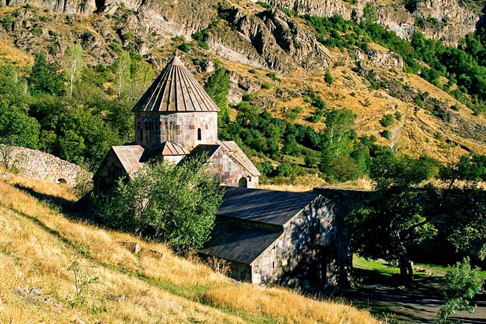 title: Gndevank monastery valley Armenia