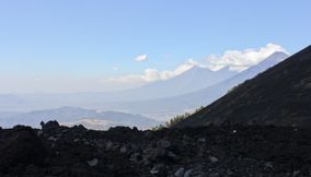 Great view of volcanes de Guatemala