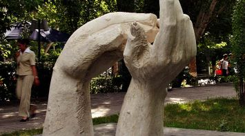 title: Hands of Yerevan Armenia