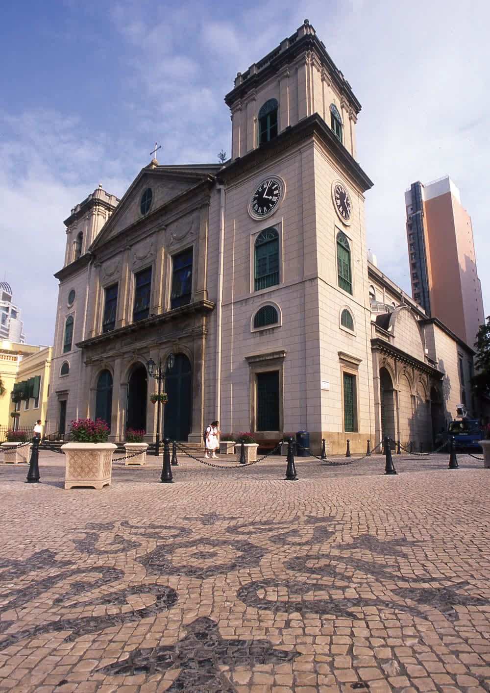 title: Historical Church The Cathedral of Macau
