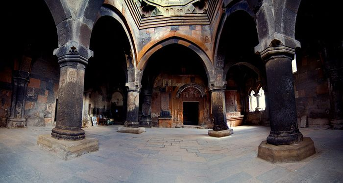 title: Hovhanavank indoor hall Armenia