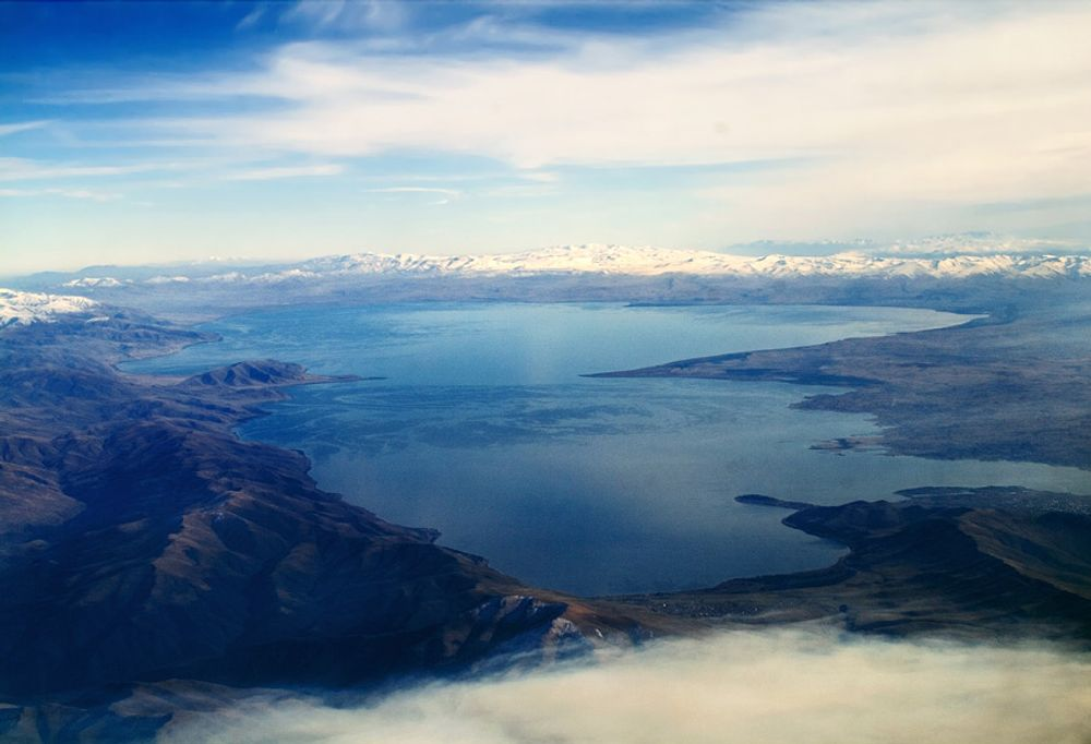 title: Lake Above Sevan Armenia