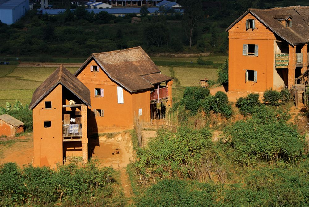 title: Maison traditionnelle malagasy traditional malagasy house Madagascar