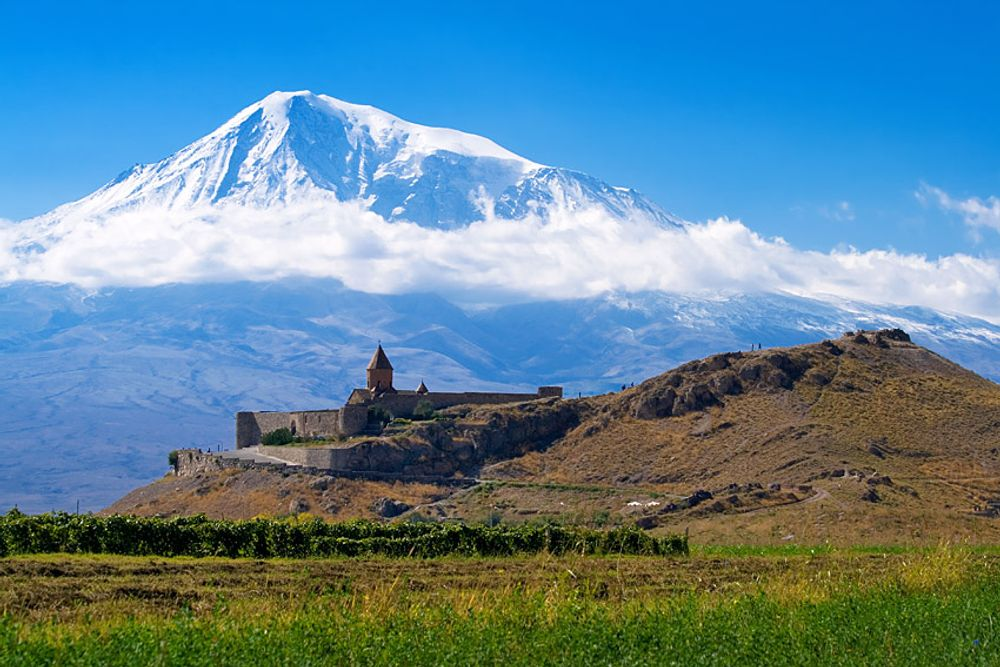 Masis and Khor Virap Landscape Armenia