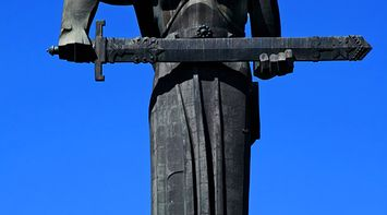 title: Mother Armenia monument Armenia