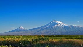 On the boarder of Ararat Armenia