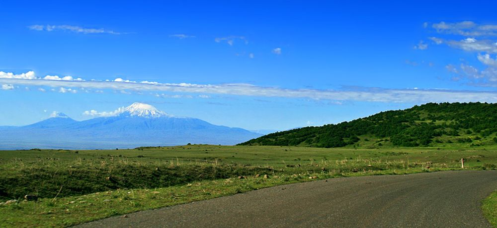 title: On the road to Ararat Armenia