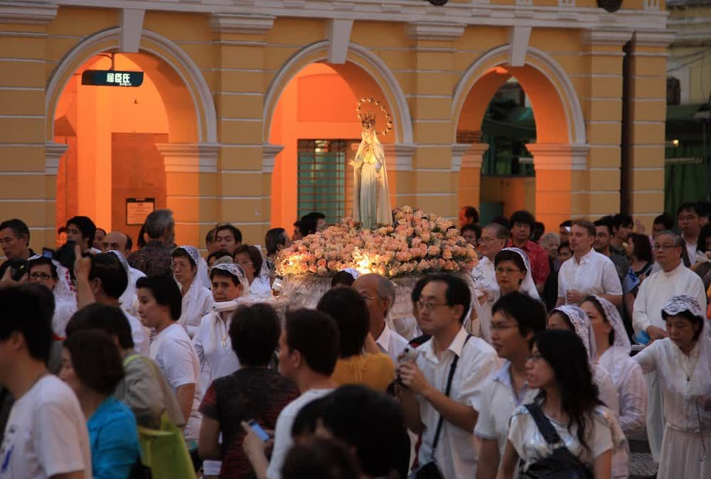 title: Our Lady ceremony Macau
