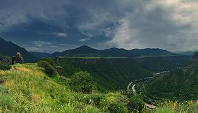 title: Panorama of Kayanberd Armenia