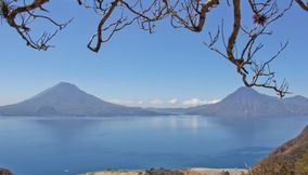 Peaceful view Solola Guatemala