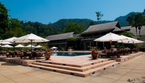 Pelaxing by the pool Langkawi
