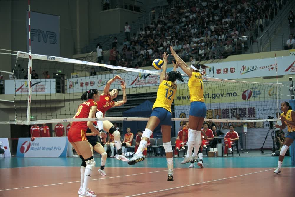 title: Playing Volley ball Macau