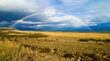 title: Rainbow of Sevan Armenia