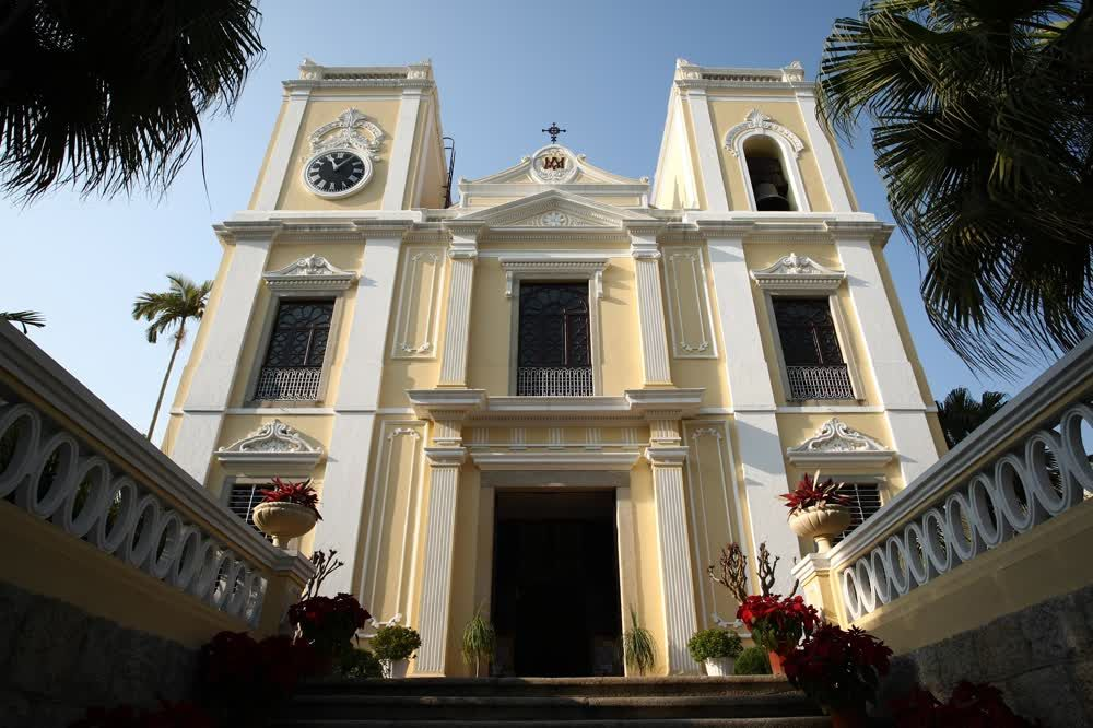 title: Saint Lawrence Church entrance Macau