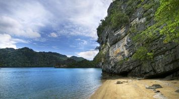 title: Secluded beach Langkawi