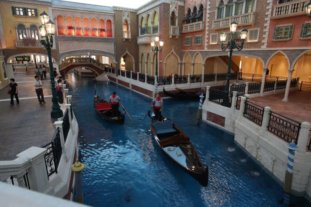 title: Shopping Mall in the Venetian Macau