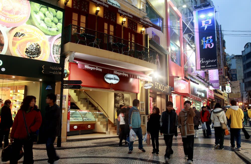 title: Shopping places in Macau