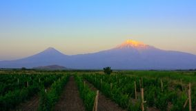 Sunrise on the Mount Ararat Armenia